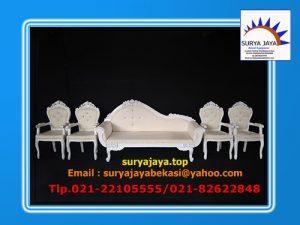 Kursi Pelaminan Sofa Putih Siap Disewakan Untuk Acara Pernikahan Di Jabodetabek