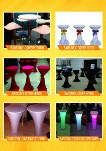 Menyewakan Barstool Dengan Beragam Pilihan Warna Dan Model Kursi Bar