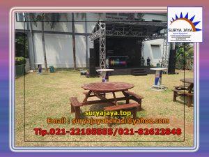 Pusat Sewa Meja Taman Jakarta,Tersedia Berbagai Pilihan Model Meja Taman