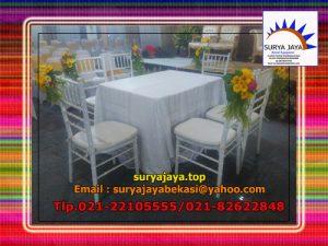 Sewa Kursi Tiffany Jakarta Siap kirim