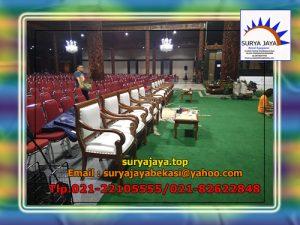 Pusat Sewa kursi VIP Kayu Jakarta bogor Bekasi