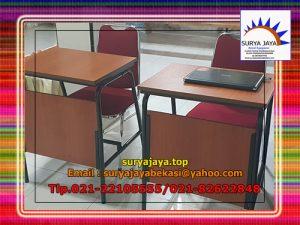 Aman dan Nyaman Kegiatan Belajar Mengajar Dengan Meja Test Atau Meja Kelas