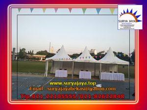 Menyewakan Tenda Sarnafil atau Tenda Kerucut Di Jakarta Bekasi