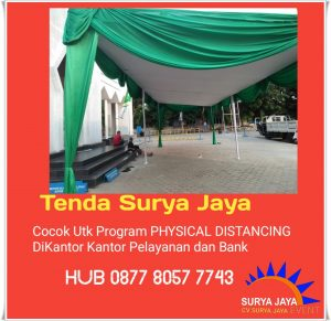 Menyewakan Tenda Serut Dan Tenda Plafon Di Jakarta