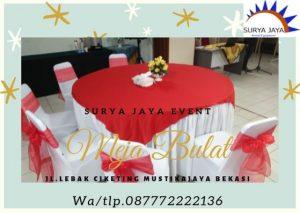 Sewa Meja Bulat Jakarta Barat
