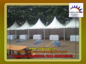 Sewa Tenda Kerucut Rawa Barat Kebayoran Baru Jakarta