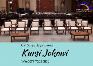 Sewa Kursi Jokowi Berkualitas Siap Kirim Pelayanan 24 Jam