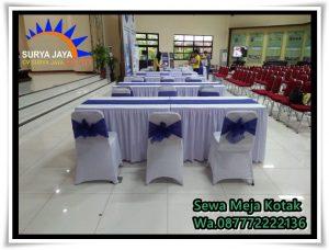 Sewa Meja Kotak Kebayoran Baru Jakarta