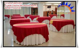 Sewa Meja Bulat Termurah Di Jakarta