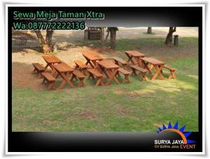 Sewa Meja Kursi Taman Extra