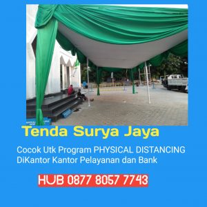Sewa Tenda Covid 19 Untuk Physical Distancing