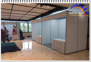 Sewa Partisi Booth Pameran New Normal