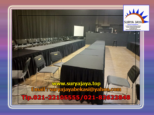 Sewa Meja Kotak Siap Antar Dan Setting Pelayanan 24 Jam Jakarta Selatan