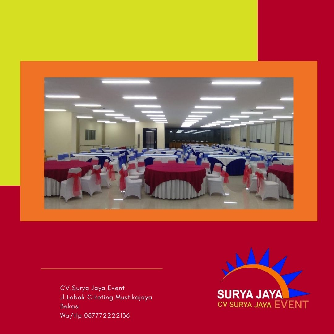 Sewa Alat Pesta Jakarta Selatan Murah Berkualitas Pelayanan 24 Jam
