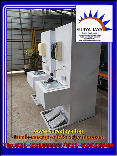 Sewa Wastafel Portable Pedal Injak Jakarta