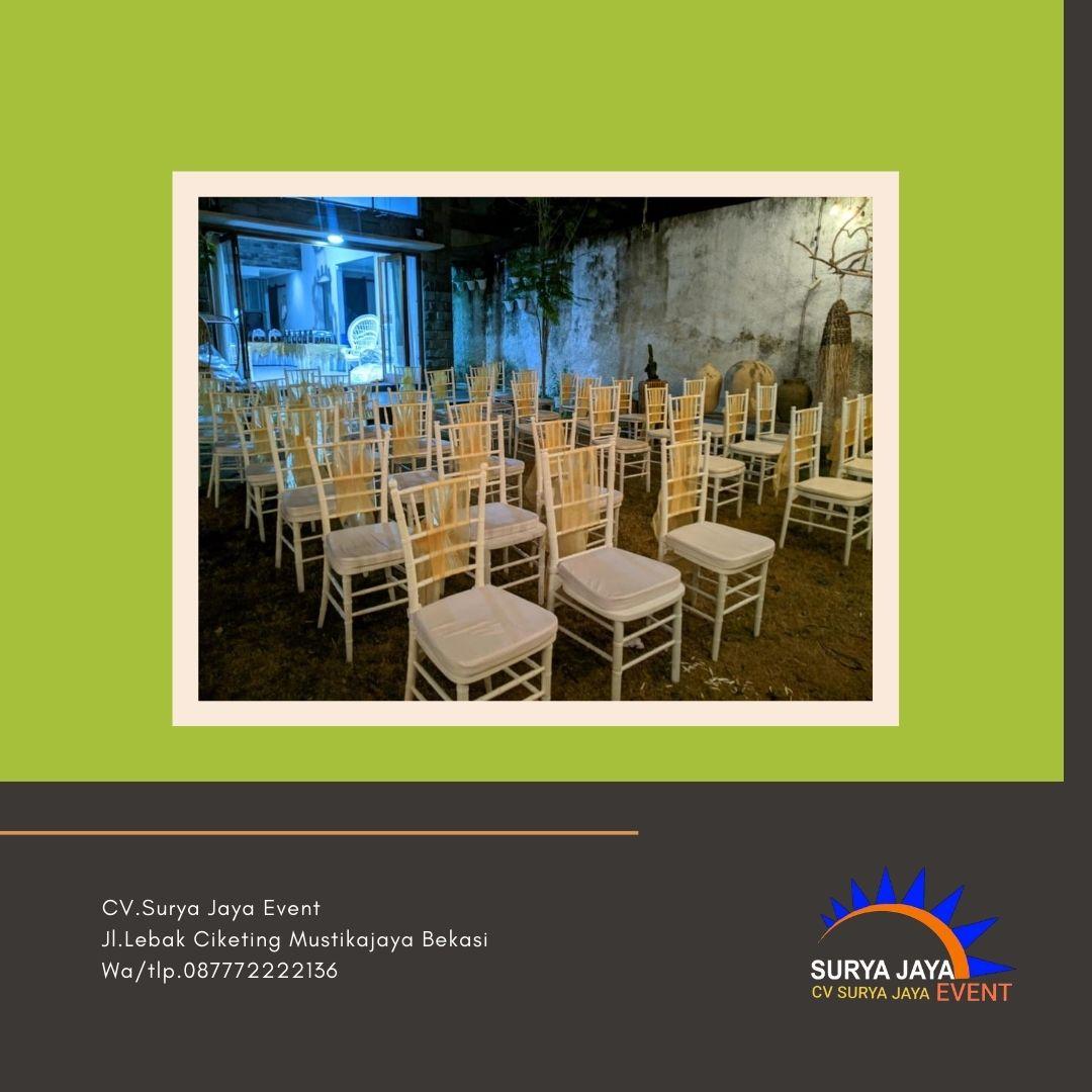 Sewa Kursi Tiffany Di Jakarta Pusat Pelayanan 24 Jam