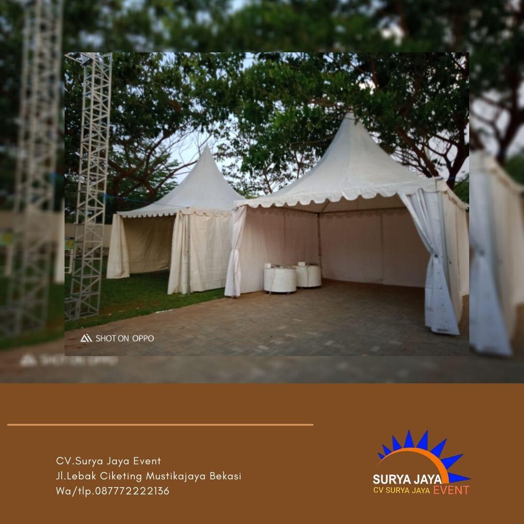 Sewa Tenda Kerucut Jakarta Barat Siap Antar Dan Pasang