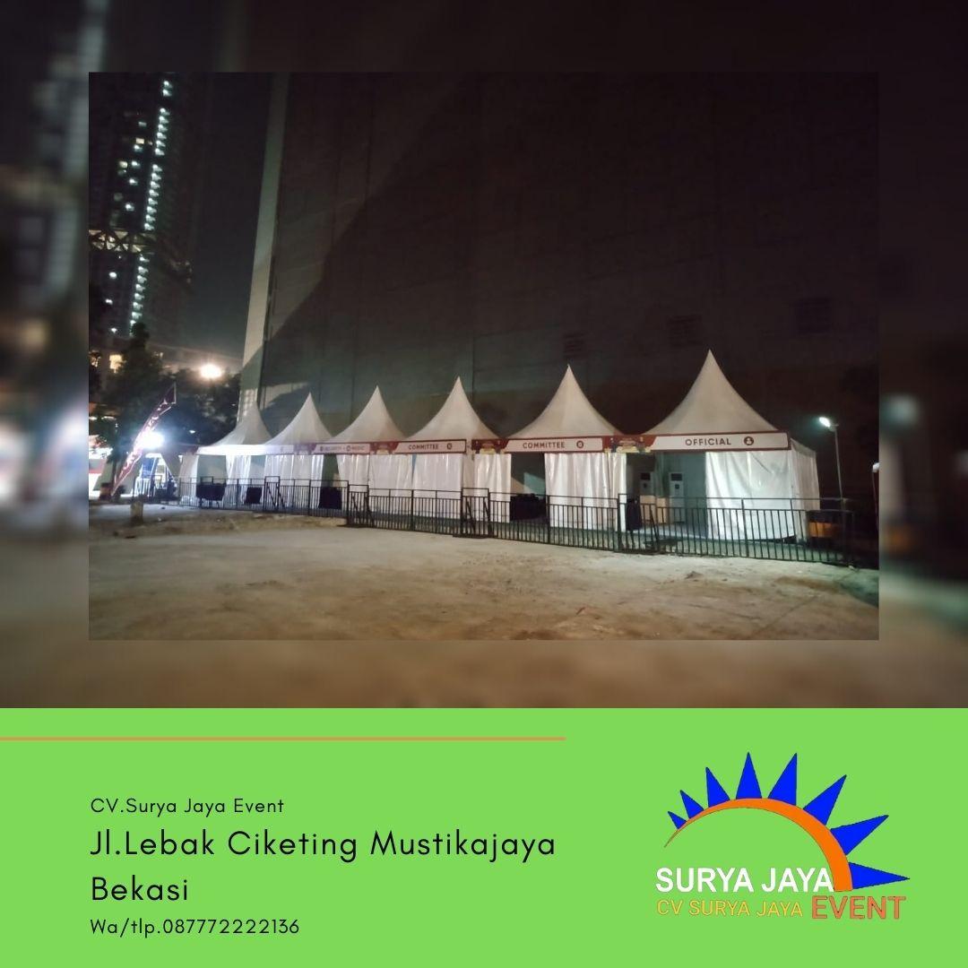 Jasa Persewaan Tenda Kerucut Di Jakarta Pusat Siap Kirim