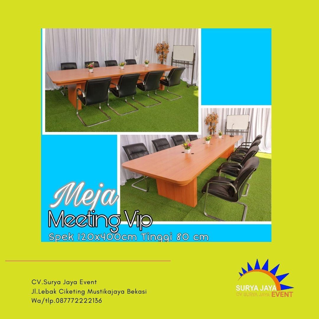 Sewa Meja Rapat Terbaru CV.Surya Jaya Event Siap Kirim