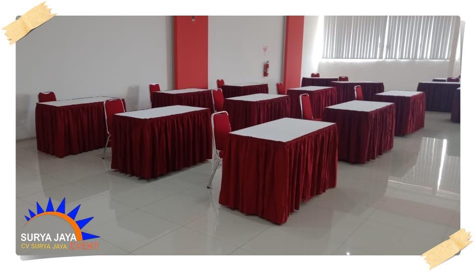 Sewa Meja Kotak Untuk Acara Seminar Di Jakarta