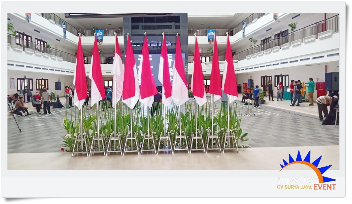 Sewa Tiang Bendera Stainless Jakarta Murah Kualitas Super Siap Kirim