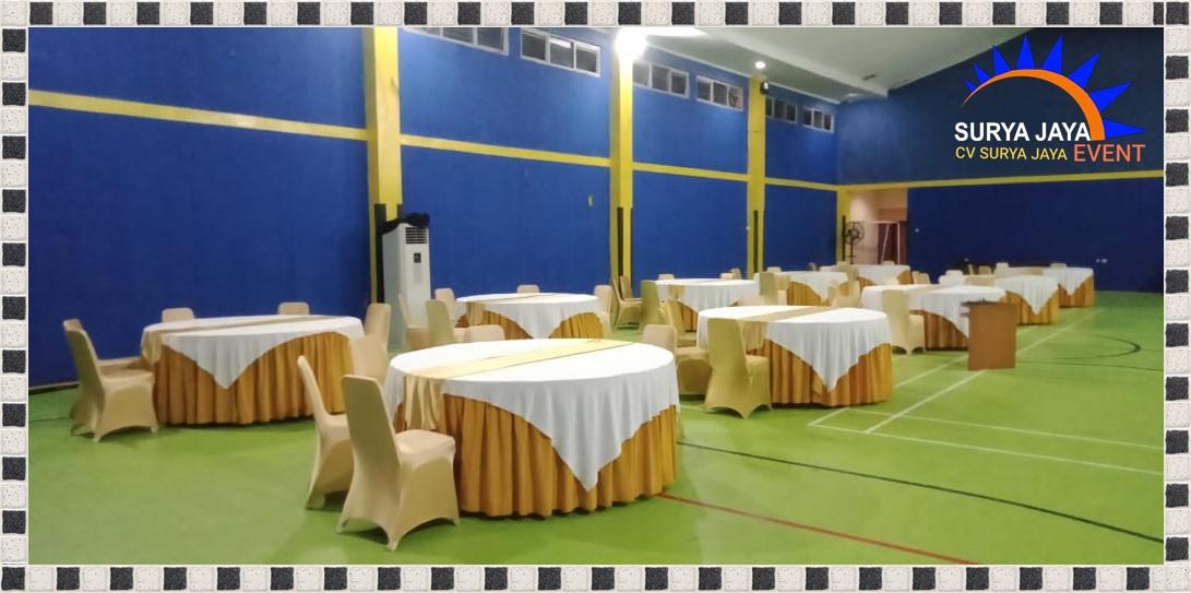 Sewa Round Table Bercover Mewah Siap Kirim Pelayanan 24 Jam