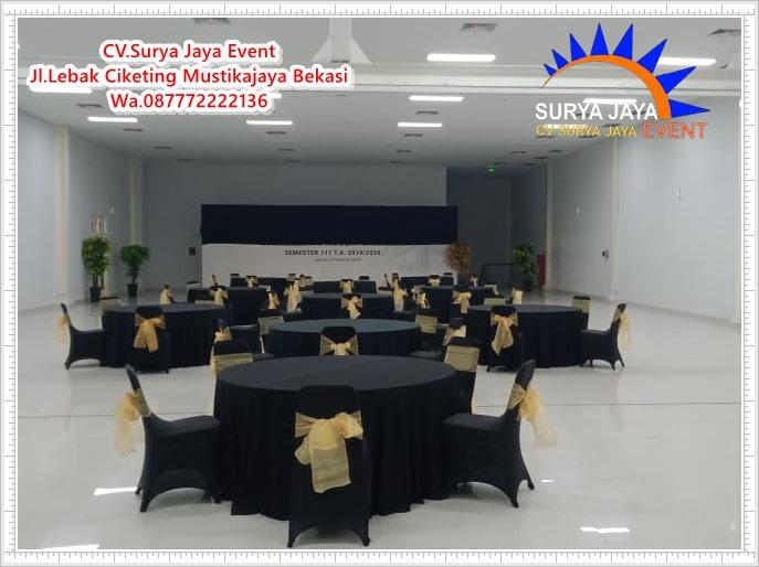 Sewa Meja Kursi Untuk Event GOR UNJ Rawamangun