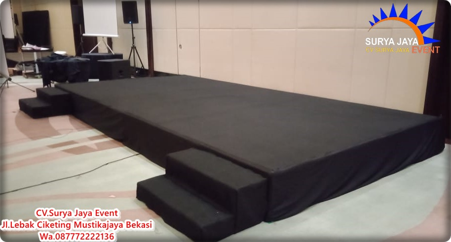 Sewa ALat Pesta Panggung Portable Murah Di Kota Bekasi