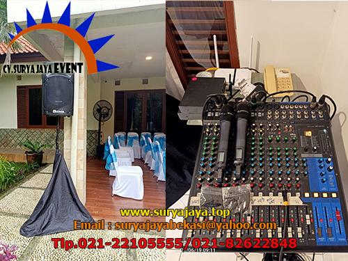 Sewa Sound System Meja Kursi Event Laguna Park Tangerang
