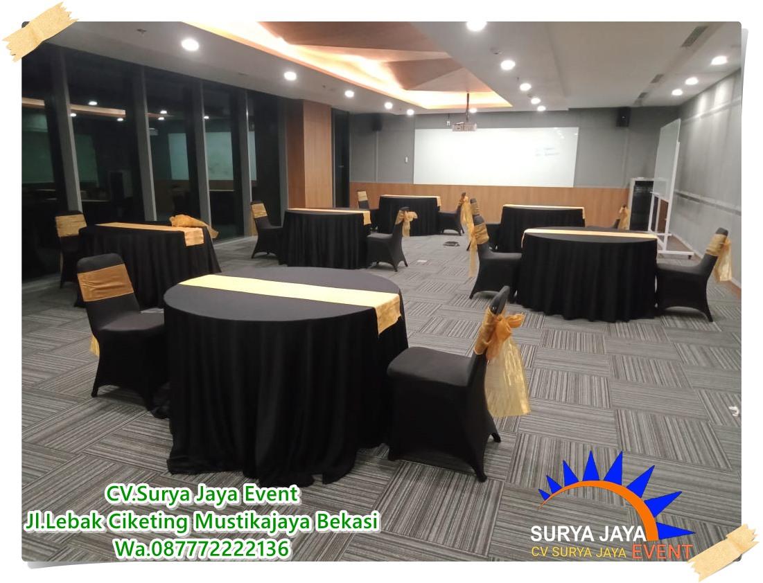Sewa Meja Bulat Kemang Jakarta Selatan